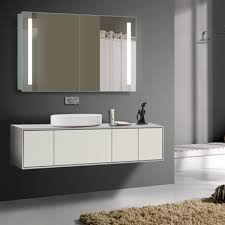 double door mirrored bathroom cabinet innoci usa 6920 illumirror double door mirrored medicine cabinet