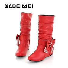Comfortable Western Boots Online Get Cheap Leather Western Boots For Women Aliexpress Com
