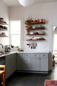 Kitchen Cabinets Open Shelving 7 Ideas For A Farmhouse Inspired Kitchen On A Budget Open