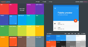 material design colors palette generator mirchu