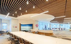 Wood Slat Ceiling System by Timber Acoustic Panels And Suspended Timber Ceilings