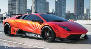 red orange cars cars of tokyo liberty walk lamborghini murcielago orange cars of