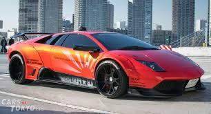 Lamborghini Murcielago Red - cars of tokyo liberty walk lamborghini murcielago orange cars of