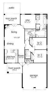 4 Bedroom Ranch Floor Plans by 100 Basic Ranch House Plans 3bedroom Plan Latest Gallery