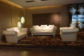 living room modern leather living room furniture sets with brown