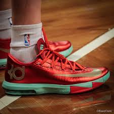 kd 6 christmas sole up at barclays for nets vs thunder sole collector