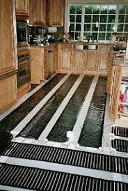 installation of radiant heat systems