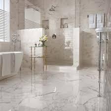 Statuario Marble Bathroom Bathroom Bathtub U0026 Sink Carrara White Marble Caesarstone