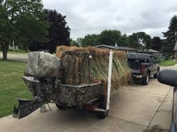 Raffia Grass Duck Blind Duck Hunting Chat U2022 Popup Blind Improvements Waterfowl Boats