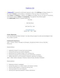 Assistant Fashion Designer Resume Fashion Designer Resume Sle 28 Images Store Designer Resume