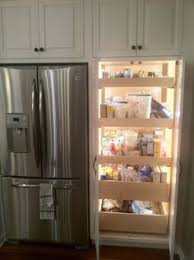 How To Build Simple Kitchen Cabinets by Kitchen Pantry Cabinet Refrigerator Cabinet With Side Pantry How