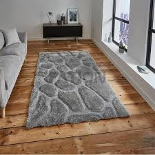 Modern Shaggy Rugs Modern 3d Effect Thick Shaggy Rugs Home Floor Carpet Buy Floor