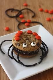 halloween ice cream sandwich spiders diy catch my party