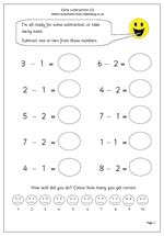 maths sheets for year 1 year 1 maths worksheet early subtraction maths