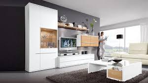 Wohnzimmerschrank Rund Wohnwand Weiß Mit Holz Gewinnen Wohnzimmer Modern Spritzig Auf