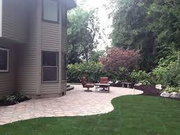 Small Brick Patio Ideas Impressive Patio Landscape Design Landscape Design With Stone