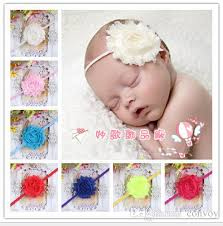 toddler hair accessories infant baby headbands mix flower elastic toddler hair band