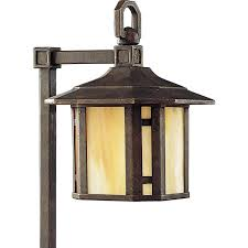 shop progress lighting arts and crafts 18 watt weathered bronze