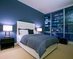 Bedroom Ideas Blue Interior Contemporary Romance Royal Blue - Blue color bedroom ideas