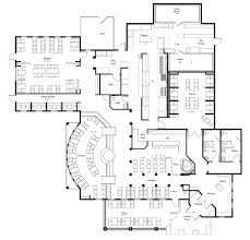 Landscape Floor Plan by Interior Restaurant Floor Plan Layout Within Awesome Conceptdraw