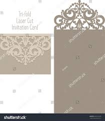 Design Patterns For Invitation Cards Laser Cut Invitation Card Laser Cutting Stock Vector 448120423