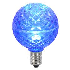 Led Blue Light Bulb by Led Light Bulbs G40 Sized Globe Light Replacement Bulbs