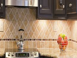 Granite Countertops With Cherry Cabinets Tiling A Kitchen Backsplash Do It Yourself Natural Cherry Cabinets