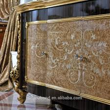 0061 turkish luxury style dining room furniture antique gold