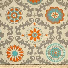 Colorful Patterned Curtains Orange And Grey Curtainshome Design Ideas Curtains Home Design