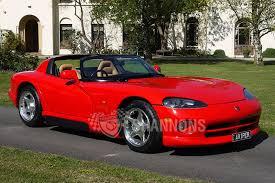 Dodge Viper Hardtop - dodge viper rt 10 roadster auctions lot 16 shannons