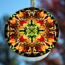 butterfly suncatcher boho chic mandala sacred geometry new age
