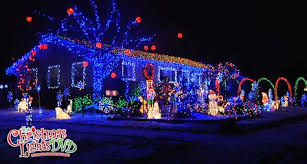 see the christmas lights display of the day from the christmas