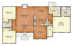 Georgetown Floor Plan Georgetown 3br House Plan United Built Homes Custom Home Builders