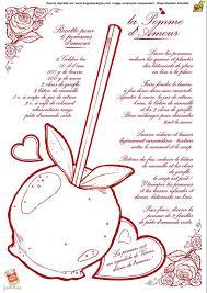 coloriage recette de cuisine pomme d amour cuisine pommes amour et coloriage