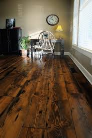 amazing ideas of rustic wood flooring for extravagant look