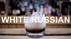 white russian drink recipe white russian cocktail recipe alcoholic iced coffee youtube
