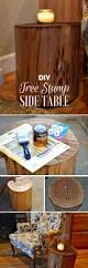 How To Make End Tables Out Of Tree Stumps by 16 Inspiring Diy Tree Stump Projects That You Can Make Too