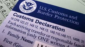 how to fill out a u s customs form