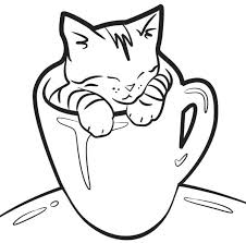 100 Ideas Cup Coloring Pages For Kidss For Kids On Spectaxmas Cup Coloring Page