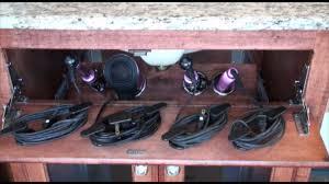 pojjo vanity valet secret blow dryer curling iron flat iron