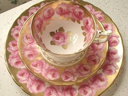 vintage china with pink roses antique pink roses tea cup trio vintage royal chelsea pink and