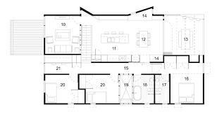 beach house floor plans gallery of suburban beach house david barr ross brewin 18