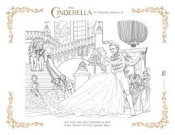 cinderella colouring pages games funycoloring