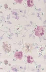 papier peint lutece chambre papier peint fleurs aquarelle mauve papier peint floral de