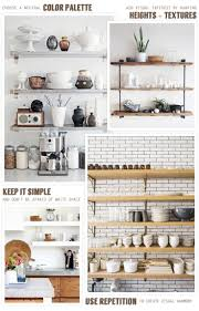 Kitchen Rack Designs by Best 25 Open Kitchen Shelving Ideas On Pinterest Kitchen
