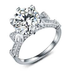 rings solitaire designs images 2ct solitaire 2014 designer gold diamond engagement ring for women jpg