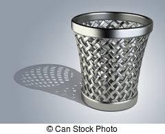 Wastepaper Basket Wastepaper Basket Stock Illustrations 715 Wastepaper Basket Clip