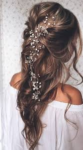 prom hair accessories 20 wedding hairstyles with exquisite headpieces wavy