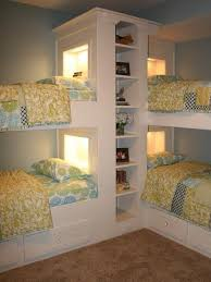 Childrens Bedroom Furniture With Storage by Four Bunk Beds For Kids Room Design Maximizing Space And Functionality