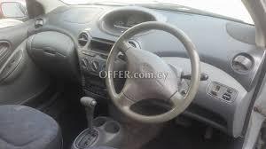 toyota yaris 2001 for sale toyota yaris 2001 for sale in limassol 75850en cyprus cars